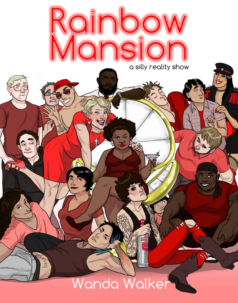 Rainbow Mansion Episode One Cover Page