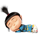 Agnes of Despicable Me PNG by YselleSwiftie