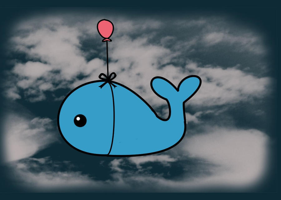 Flying Whale by LiebeTacos