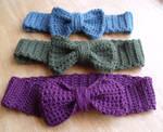 Crochet Bow Headbands 2