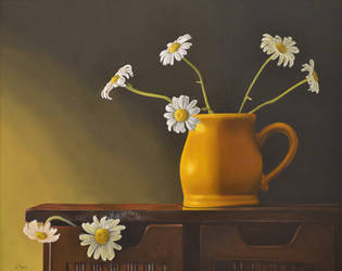 Yellow Vase by georgeayers2000