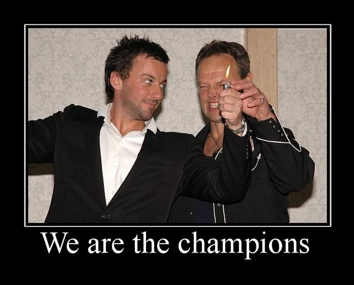 We are the champions. Craig Parker by NatalyRahl on DeviantArt