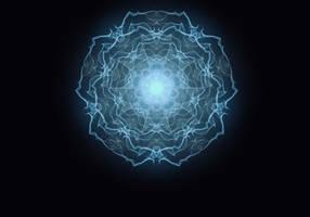 Glowy fractal 12
