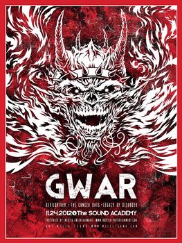 Screenprint : Gwar @ The Sound Academy