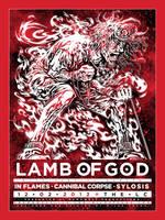 Screenprint: Lamb Of God @ The LC