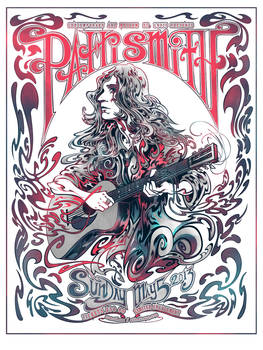 Screenprint: Patti Smith