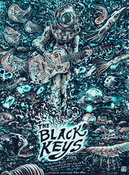 Screenprint: The Black Keys by milestsang