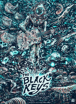 Screenprint: The Black Keys