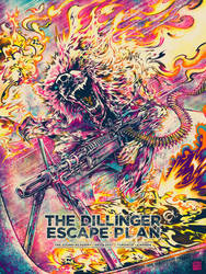 Screenprint: The Dillinger Escape Plan