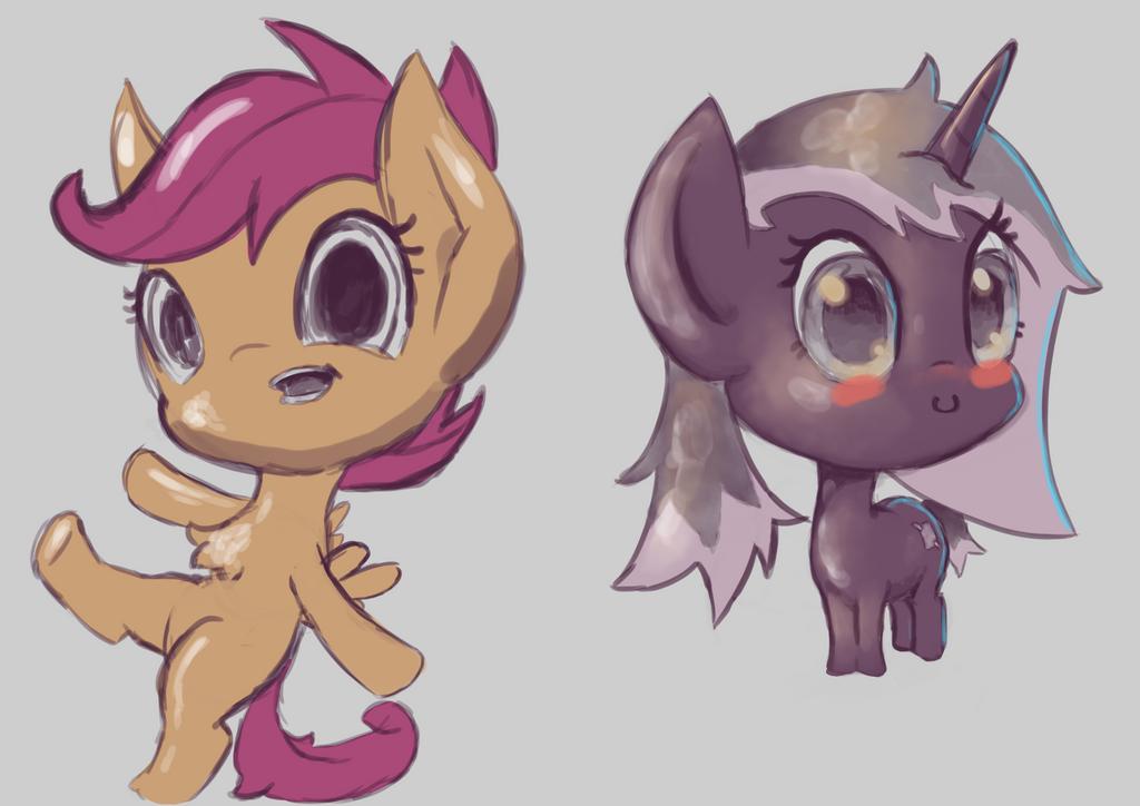 Chibi Pony Tests1 by ryolo132