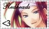 Redheads Are LOVE by ShadowWaluigi1826