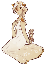 [Closed] Gold Diamond and Pearl Adoptable by pearlessense