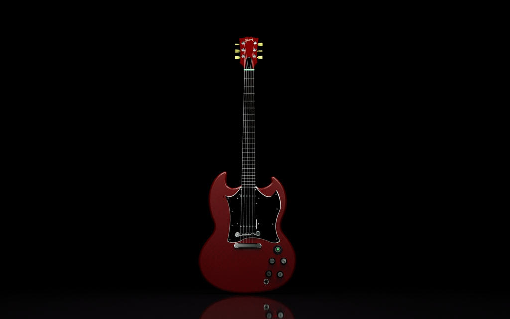 gibson sg wallpaper. Gibson SG - Part 3 by