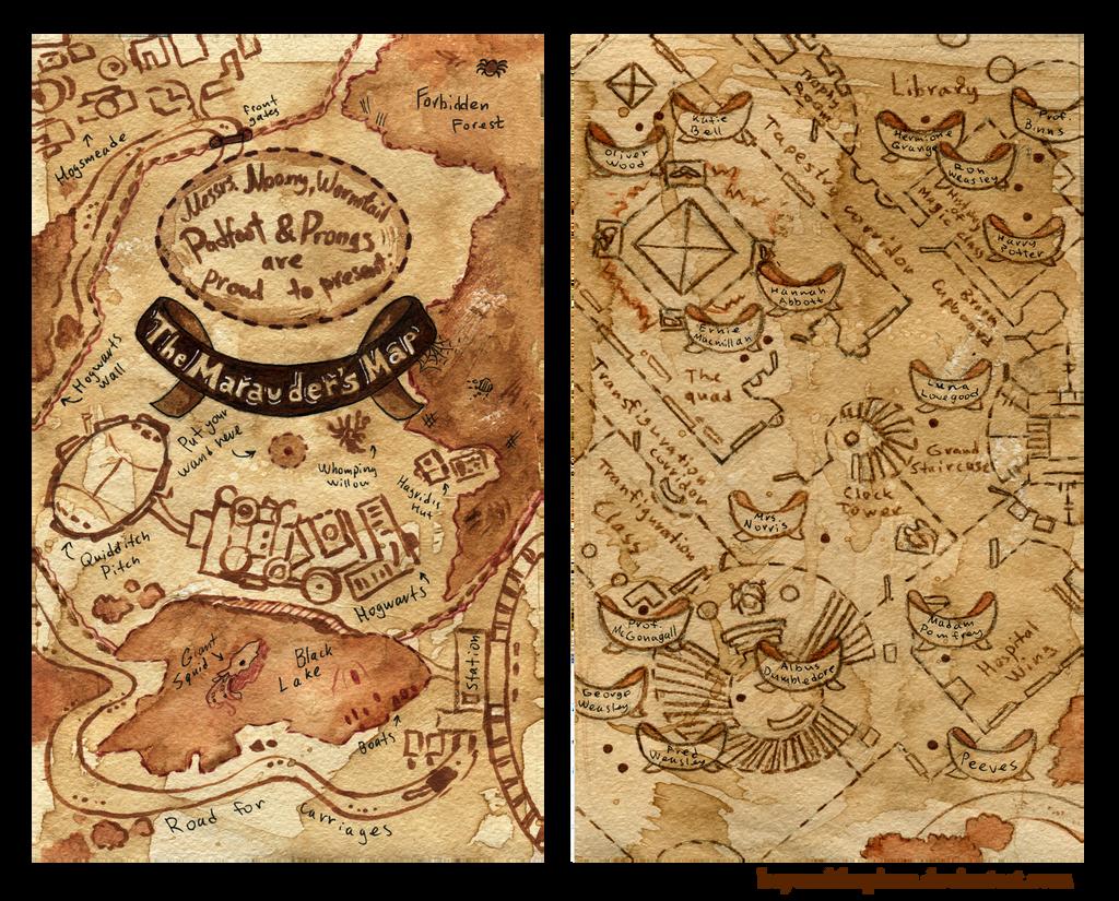marauder s map iphone wallpaper - photo #10