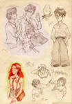 HP sketches