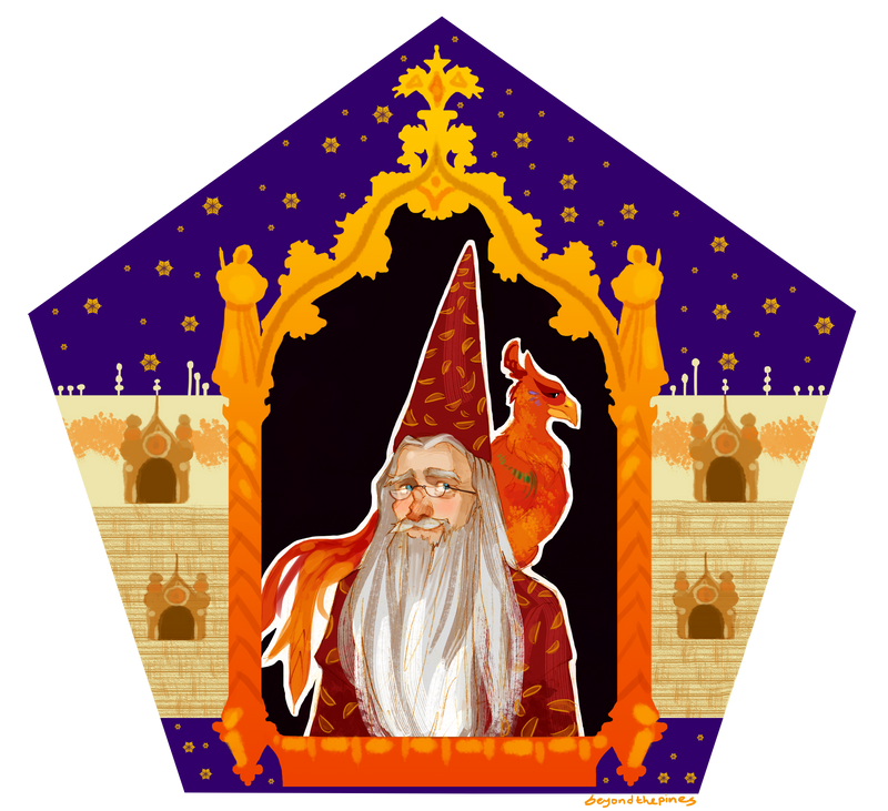Chocolate Frog Card - Albus Dumbledore by BeyondThePines
