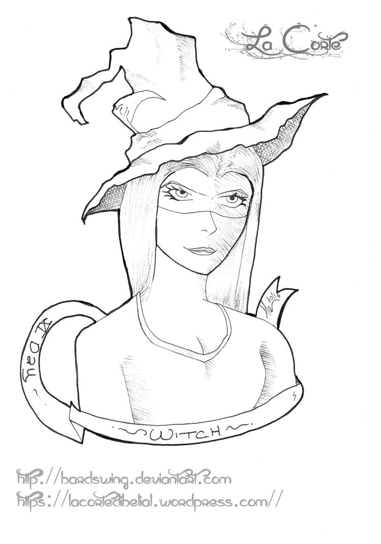 drawlloween witch