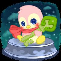 Baby Bruce Key Quest Token