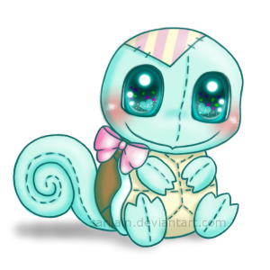 FREE Squirtle Snuggly Page Doll By Sarilain On DeviantArt