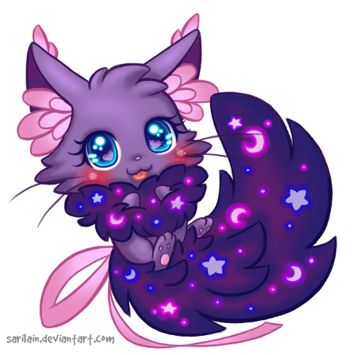 Purple Animated Cat From The S