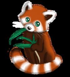 *Re-uploading* OLD Art: Red Panda