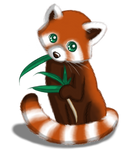 *Re-uploading* OLD Art: Red Panda