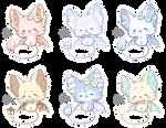 [CLOSED] Fluffy Bat Adoptables