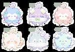 [CLOSED] Octopuffs #18 - #23