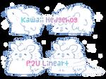 P2U Hedgehog Line Art