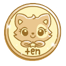 Ten Cakie! Coins by Sarilain