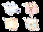 [CLOSED] Paper Pets #1 - #4