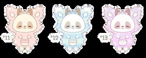 [CLOSED] (MYO) Pandeer #11 - #13