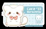 Cakie #33 - Marshmeow