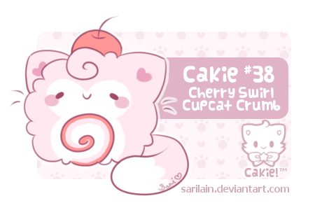 [CLOSED] Cakie #38 - Cupcat Crumb by Sarilain