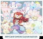 [CLOSED] Custom Slot Auction - ANY Cakie! Species