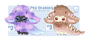 [CLOSED] Pea Dragons #2 and #3