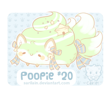 **GIVEAWAY PRIZE** Poopie #20 for sound-of-heaven by Sarilain