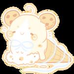 Mice Cream Cupcake