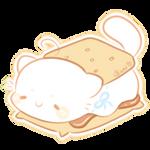 Marshmeow Cupcake