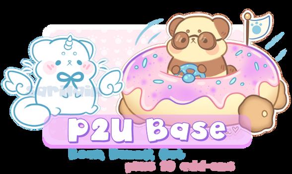 P2U Donut Car Bear