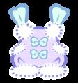 Wearable: Purple Puffball Shortalls by Sarilain