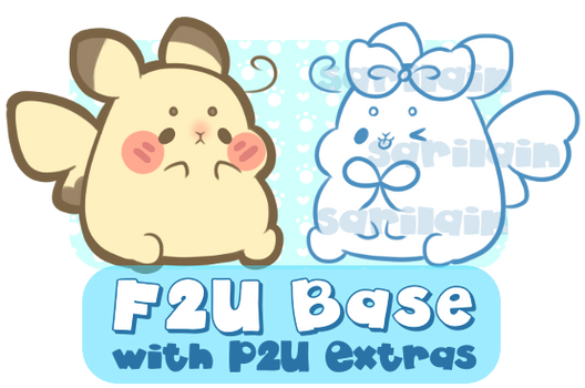 F2U Pikachu Base with P2U Extras!