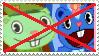 Anti Flippy x Petunia - Stamp by mischievousFlaky-plz