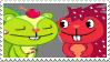 Flaky x Nutty - Stamp by mischievousFlaky-plz