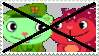 Anti Flippy x Flaky - Stamp by mischievousFlaky-plz