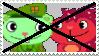 Anti Flippy x Flaky - Stamp by mischievousFlaky-plz