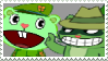 Flippy x Shifty - Stamp by mischievousFlaky-plz