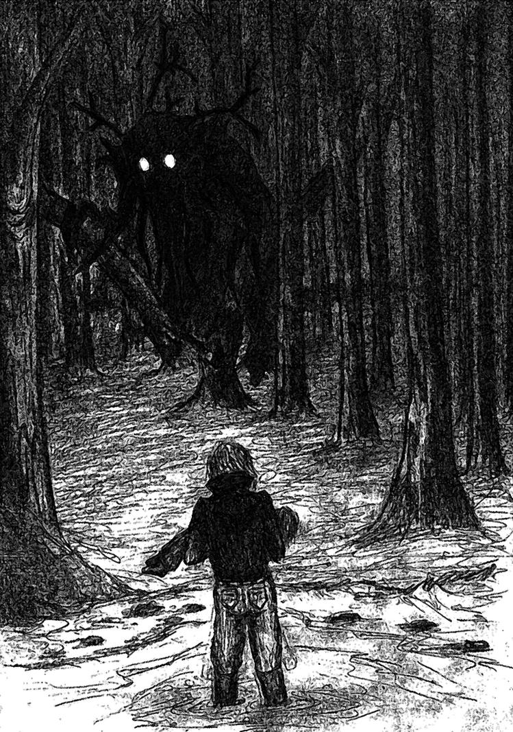 Unexpected encounter with the wendigo by Georgeact on ...