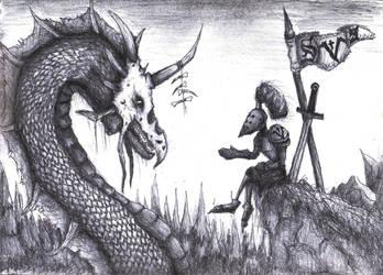 Doom metal knight