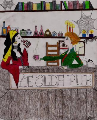 Ye Olde Pub... by alchemist08